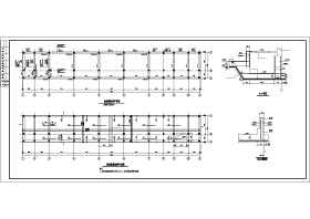 某地三层(带地下室)框架结构办公楼结构施工图