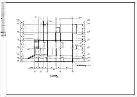 某食堂设计施工建筑CAD图纸