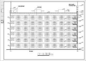 某地六層框架結構教學樓建筑結構施工圖
