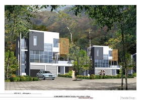 兩套私人別墅設計方案圖帶效果圖