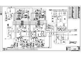 2台循环流化床锅炉2台链条热水锅炉锅炉房设计图