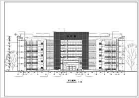 某五层框架结构教学楼建筑设计方案图
