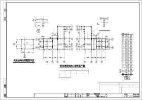 某地上26层地下1层框剪住宅结构cad施工图