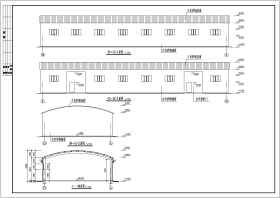 某地單層輕鋼結構廠房結構設計施工圖