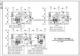 某会展中心2层地下商场电气施工图