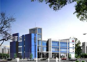 小办公楼建筑施工图带效果图