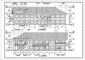 某地中小型商业场所建筑设计施工图