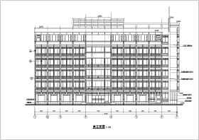 某6层工商管理局办公楼建筑设计施工图