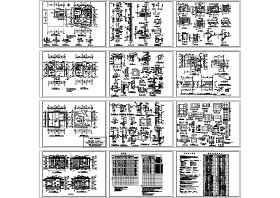 歐式別墅建筑圖