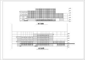 框架结构五层展览馆建筑施工图