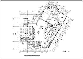重庆某国际医院装修工程施工图