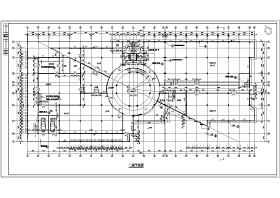 全套办公楼建筑设计施工图带效果图