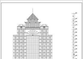 某地18层框架剪力墙结构酒店建筑施工图
