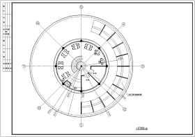 经典中餐厅全套设计施工CAD建筑图