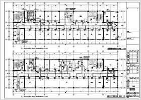 江蘇某14層醫院綜合樓空調水系統圖紙