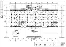 某中學一棟5層圖書館電氣設計施工圖