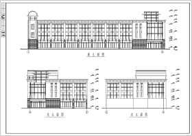 某地多層框架結構辦公樓結構設計施工圖