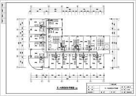 某六层多层标准酒店给排水设计施工图