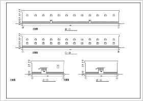 某二层超市轻钢框架结构设计施工图