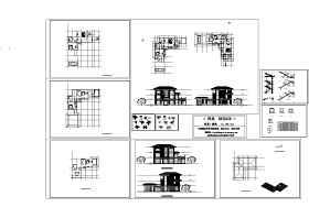 私人别墅建筑施工图