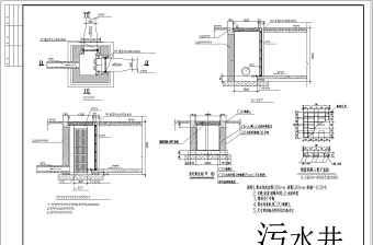 给排水工程中常用市政及水处理图块合集