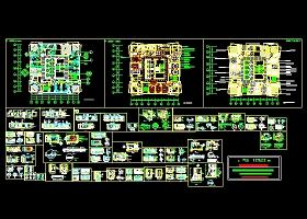 KTV包房装修施工图