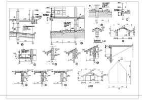 某三层私人小别墅结构设计施工图(含建筑设计)