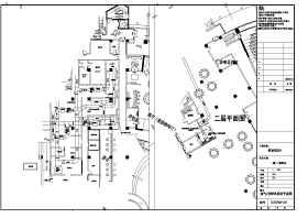 酒店厨房给排水、排烟、厨房设备全套设计图