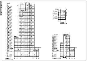 某地29层框剪结构办公楼建筑设计方案图