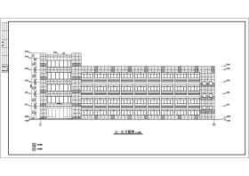 多层厂区办公楼建筑施工图