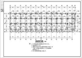 某地六層底框結構商住樓結構施工圖