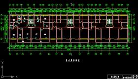 房屋建筑學課程設計cad版