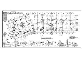 某小高層建筑工程CFG樁復合地基設計方案圖