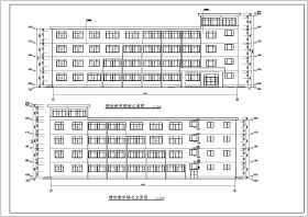 某地区五层框架教学楼施工图及计算书(本科毕业设计)