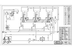 燃气热水锅炉房图纸_锅炉房热力系统图_CAD图库 【建库图纸】