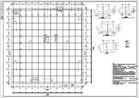 某多层框架结构大型商场结构设计施工图