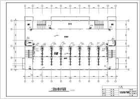 某寄宿中学浴池给排水工程设计施工图