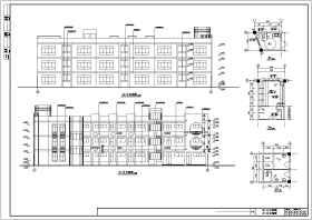 某三层框架结构幼儿园建筑设计施工图