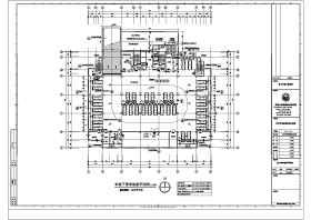 ?#36710;?#21306;二十一层办公楼建筑设计施工图