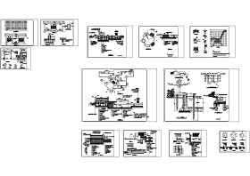一套完整的別墅景觀施工圖