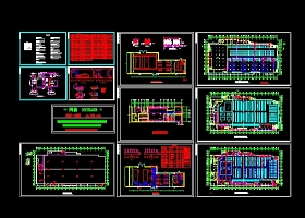 大型超市空调设计图