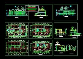幼兒園設計建筑圖