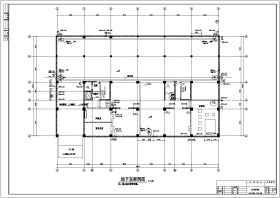 某地八层办公楼建筑给排水设计施工图(带计算书)