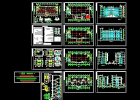 多层办公楼建筑施工图