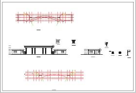 某大门设计方案图