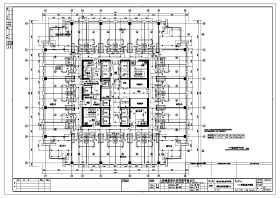 某小区四十三层框架结构住宅楼消防给水工程施工图