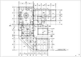 某四层砖混结构桑拿浴室给排水消防设计图