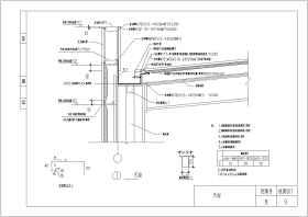 多种类型钢结构收边节点大样构造详图