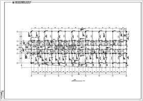 云南某商業城框架結構設計施工圖紙