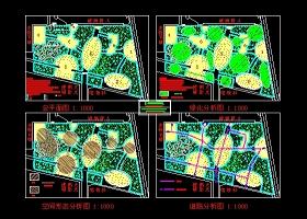 文化广场景观规划图